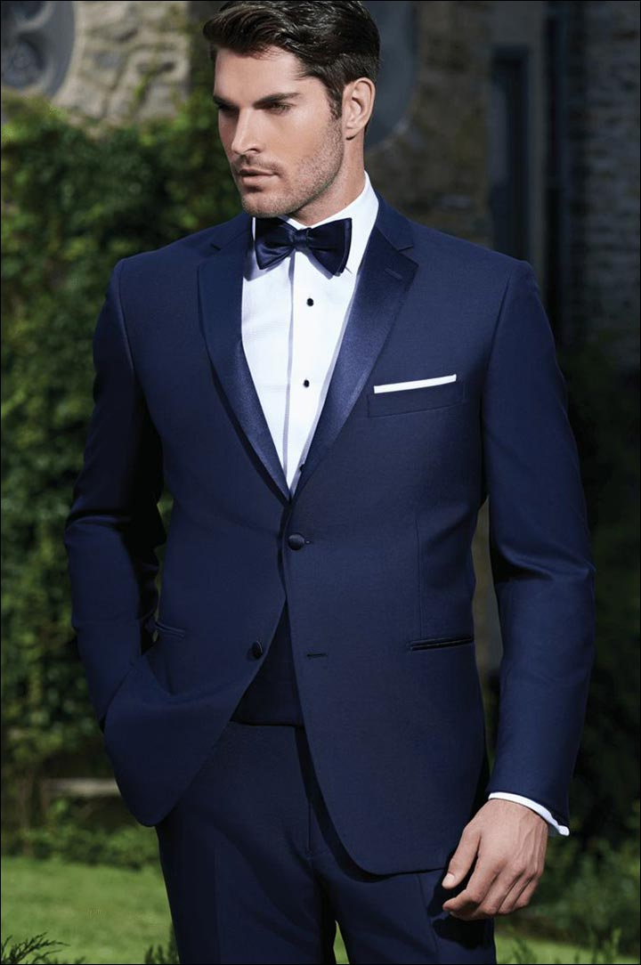 Navy-Blue-Tuxedo--what-to-wear-to-a-black-tie-wedding