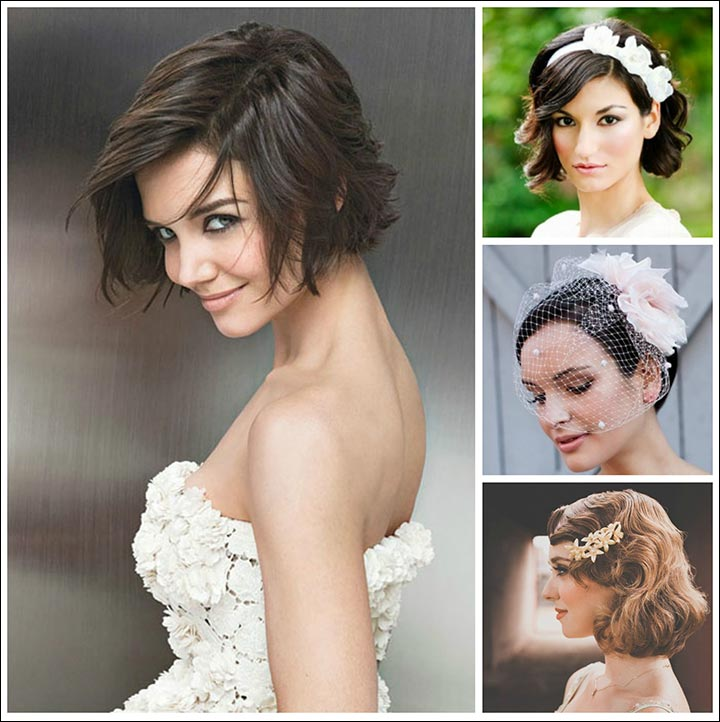 Short-And-Sweet-romantic-wedding-hairstyles