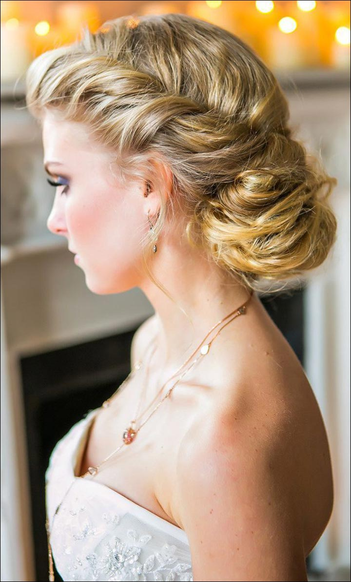 Sophisticated-Up-Do-romantic-wedding-hairstyles