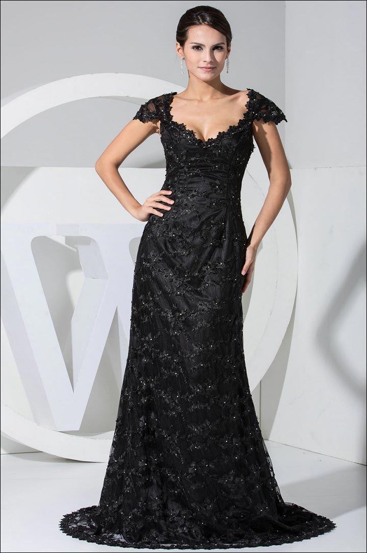 classic-black-gown-what-to-wear-to-a-black-tie-wedding