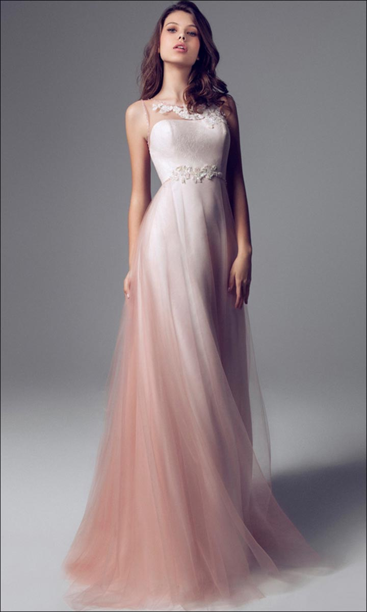 Blush Colored Wedding Gowns 007 - Blush Colored Wedding Gowns